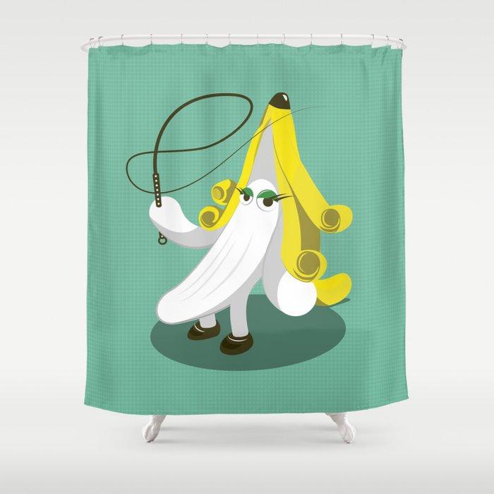 Cool Bananas! Shower Curtain