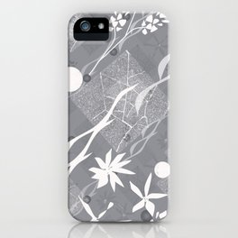 Flower ornament. iPhone Case