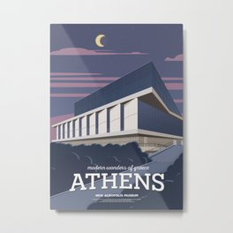 Athens, The New Acropolis Museum (GR) Metal Print