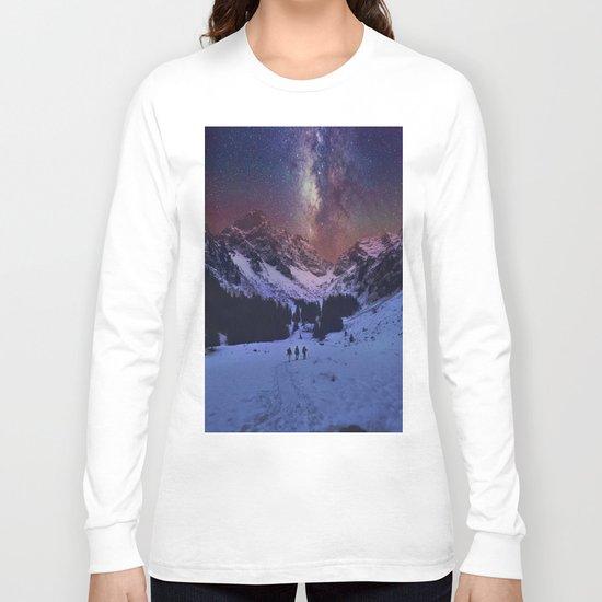 Walking under the Stars Long Sleeve T-shirt