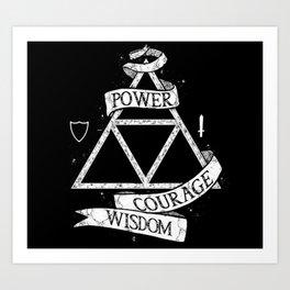 The Legend of Zelda - Triforce Art Print