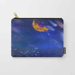 Moon Galaxy Carry-All Pouch