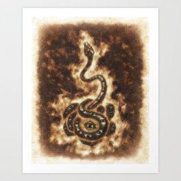 Serpent Power Art Print
