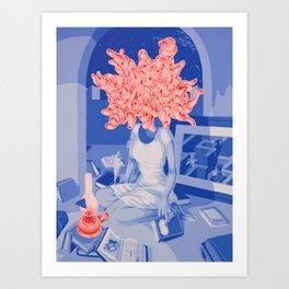 La prigioniera (the prisoner) Art Print
