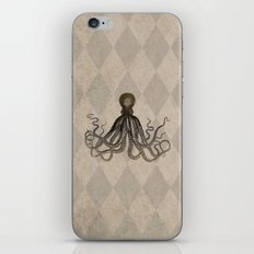Vintage Style Octopus iPhone Skin