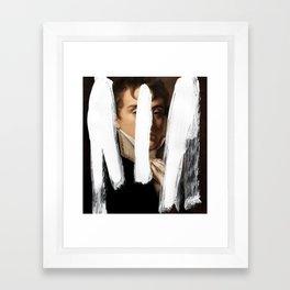 Brutalized Portrait of a Gentleman 2 Framed Art Print