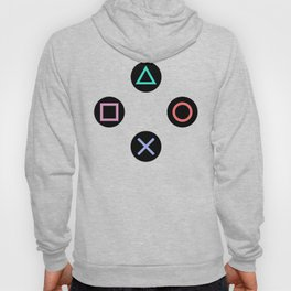 Play with Playstation Controller Buttons Hoody