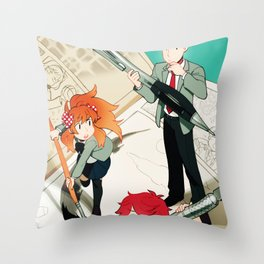 Gekkan Shoujo Nozaki-kun Throw Pillow