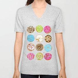 Sweet donuts Unisex V-Neck