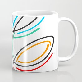 colored hairpins Coffee Mug