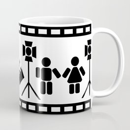 Making of a movie illustration Coffee Mug