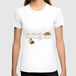 Cruelty Free Thanksgiving T-shirt