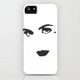 Primadonna Girl iPhone Case