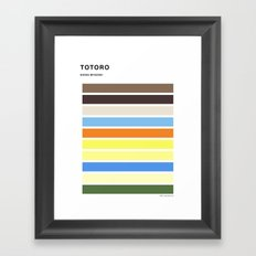 The colors of - to to ro Framed Art Print