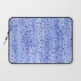 Blue Spray and Flecks Laptop Sleeve