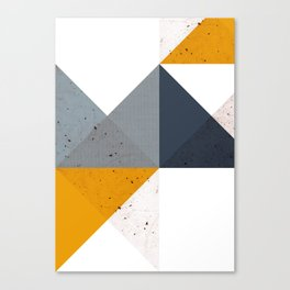 Modern Geometric 19/2 Canvas Print