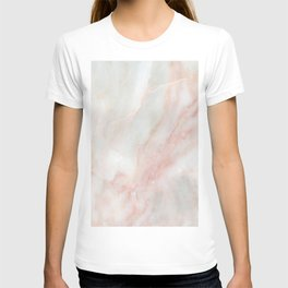 Softest blush pink marble T-shirt