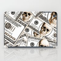 hiphop iPad Cases featuring Thousand dollars by Burcu Korkmazyurek
