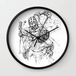 Drop the Hammer (The Art of Lax™) Wall Clock