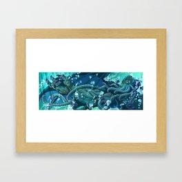 The Dreamer Awakes Framed Art Print