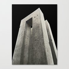 Through the Monolith Canvas Print