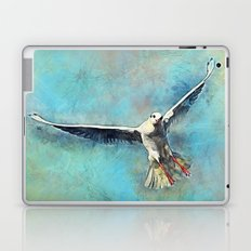 gull bird Laptop & iPad Skin
