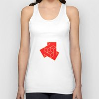 arrow Tank Tops featuring Arrow by Dizzy Moments