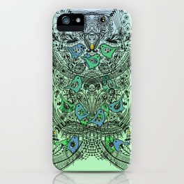 Little Birds and big brother Owl iPhone Case