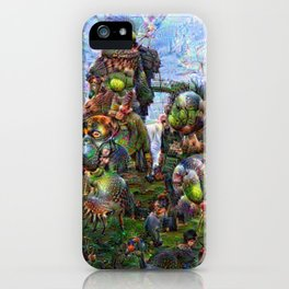 DeepDream Pictures, Rocks iPhone Case