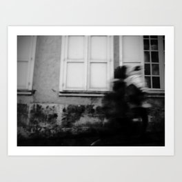 I follow you in the street, sometimes. 2 Art Print