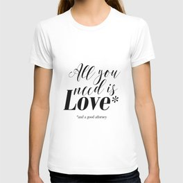 Gift for lawyer All you need is love and a good attorney PRINTABLE art Funny wall art Funny print T-shirt