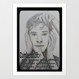 Cumberbitch Art Print