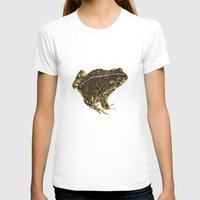 western T-shirts featuring Western Toad by CJ Hitchcock