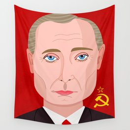 Putin Wall Tapestry