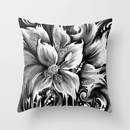 Frontal cortex. Pedals in my mind. Throw Pillow