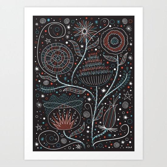 Flowers of the Moon Art Print