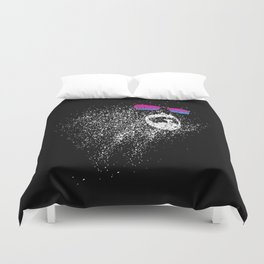 The face of the universe Duvet Cover