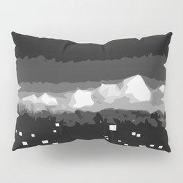 Cloudy city night Pillow Sham