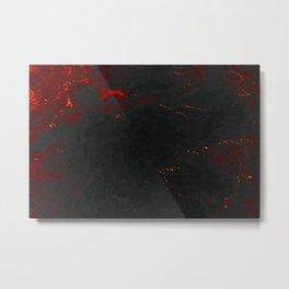 Volcanic marble Metal Print