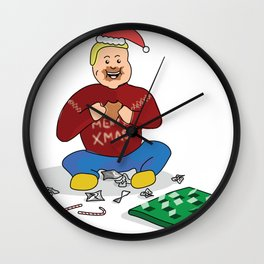 First Day of Christmas Wall Clock