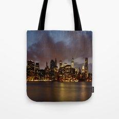 Downtown New York City Tote Bag