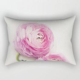 Pink Peonies 2 Rectangular Pillow