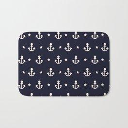 Blue Navy Bath Mat