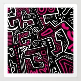 Juggles Art Print