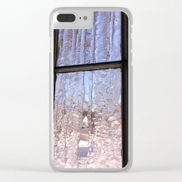 Ice Curtain Clear iPhone Case