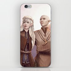 Dragon Age - Finding Skyhold - Solas and Inquisitor iPhone & iPod Skin