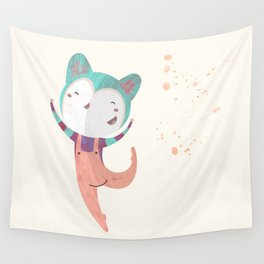 Dance Dreams (Cream) Wall Tapestry