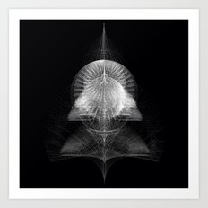 MONOCHROME COMPLEX Art Print