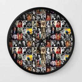 Feminist Tile Wall Clock
