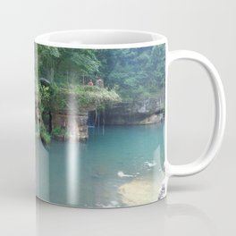 Spring pool panorama Coffee Mug